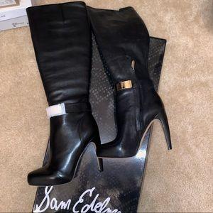 Brand new Sam Edelman black heeled boots